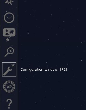 Stellarium-Config-Menu